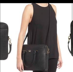 Kate Spade Black Laptop Bag EUC